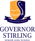 Governor Stirling Senior High School Crest.png