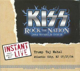 Shows In Los Angeles >> Kiss Instant Live - Wikipedia