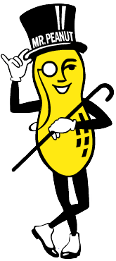 Mr. Peanut logo chosen by crowdsourcing in 1916