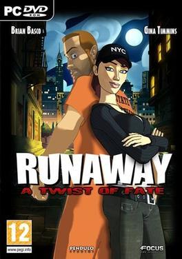 Runaway - A Twist of Fate Deutsche  Texte, Untertitel, Menüs, Videos, Stimmen / Sprachausgabe Cover