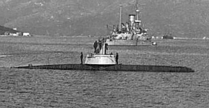 UB-10 was identical in design to UB-15 (shown here in service as the Austro-Hungarian U-11)