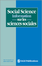 Image result for Social Science Information Sur Les Sciences Sociales