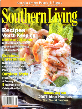 Southern Living Magazine July 2011