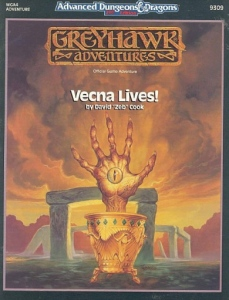 Cover of Vecna Lives!