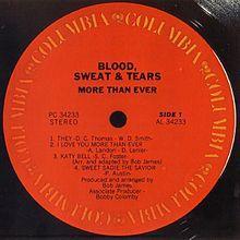 <i>More Than Ever</i> (Blood, Sweat & Tears album) 1976 studio album by Blood, Sweat & Tears