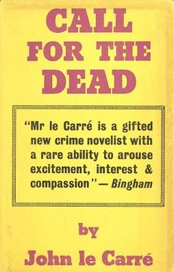 <i>Call for the Dead</i> 1961 novel by John le Carré
