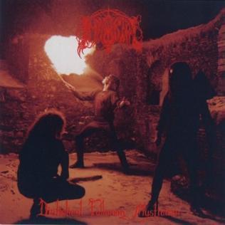 <i>Diabolical Fullmoon Mysticism</i> 1992 studio album by Immortal