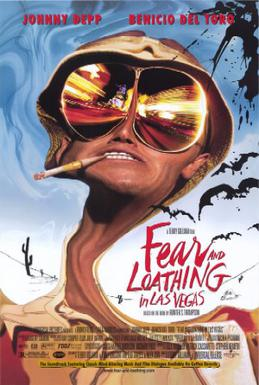 Fear And Loathing In Las Vegas Hunter S Thompson Giant Poster