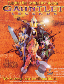 Picture of a game: Gauntlet Legends