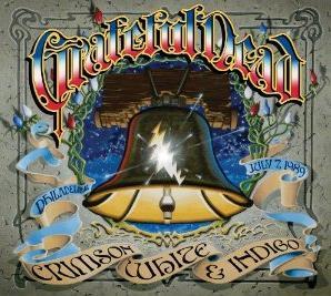 <i>Crimson White & Indigo</i> 2010 live album by Grateful Dead