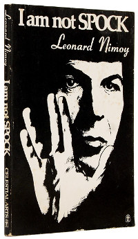 I Am Not Spock (Leonard Nimoy autobiography) cover.jpg