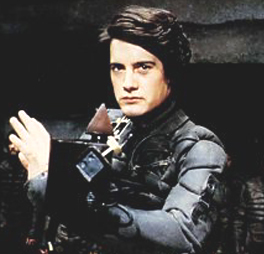 Paul Atreides, as portrayed by Kyle MacLachlan in David Lynch's Dune (1984)