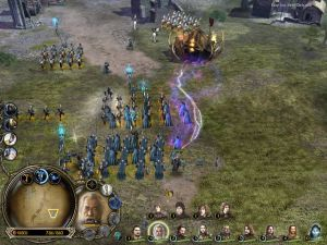 скачать игру The Lord Of The Rings The Battle For Middle - фото 4