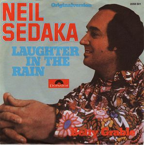 Laughter in the Rain 1974 single by Neil Sedaka