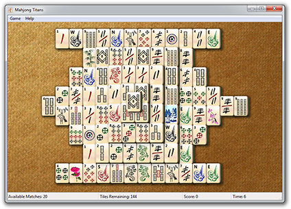 Mahjong windows 7