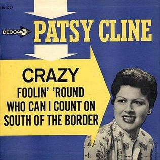 <i>Patsy Cline</i> (1962 EP) 1962 EP by Patsy Cline