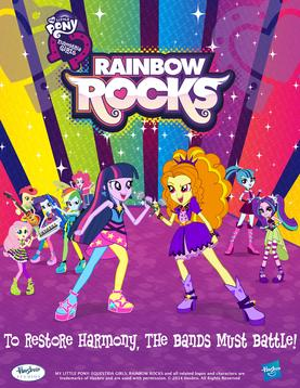 Picture of a movie: My Little Pony: Equestria Girls – Rainbow Rocks