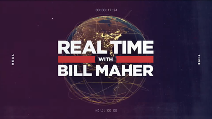 Real Time with Bill Maher Promotional Poster