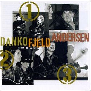 <i>Ridin on the Blinds</i> 1994 studio album by Rick Danko, Jonas Fjeld and Eric Andersen