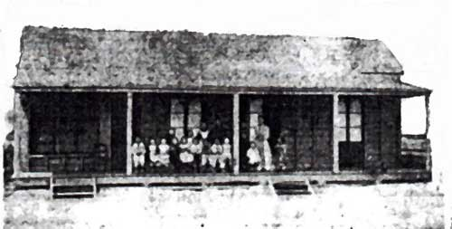Earliest Known Image of the National School Rockhampton