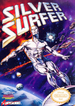 Silver Surfer NES box The Ultimate In Video Game Prowess