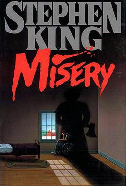 Image result for book cover misery