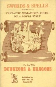 <i>Swords & Spells</i> book by Gary Gygax