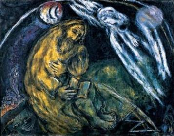 Chagall 1968, The_Prophet_Jeremiah_ dans immagini sacre The_Prophet_Jeremiah_-_1968_-Wull
