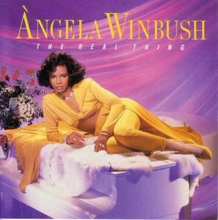 <i>The Real Thing</i> (Angela Winbush album) 1989 studio album by Angela Winbush