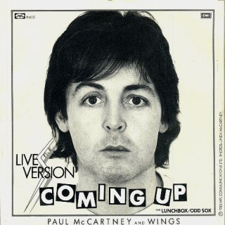 Cover image of song Coming Up by Wings