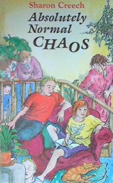 absolutely normal chaos book report Absolutely normal chaos kirkus reviews issue: sept 1st  our editors select the one author and one book they believe to be most worthy of your attention and.