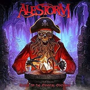 <i>Curse of the Crystal Coconut</i> 2020 studio album by Alestorm