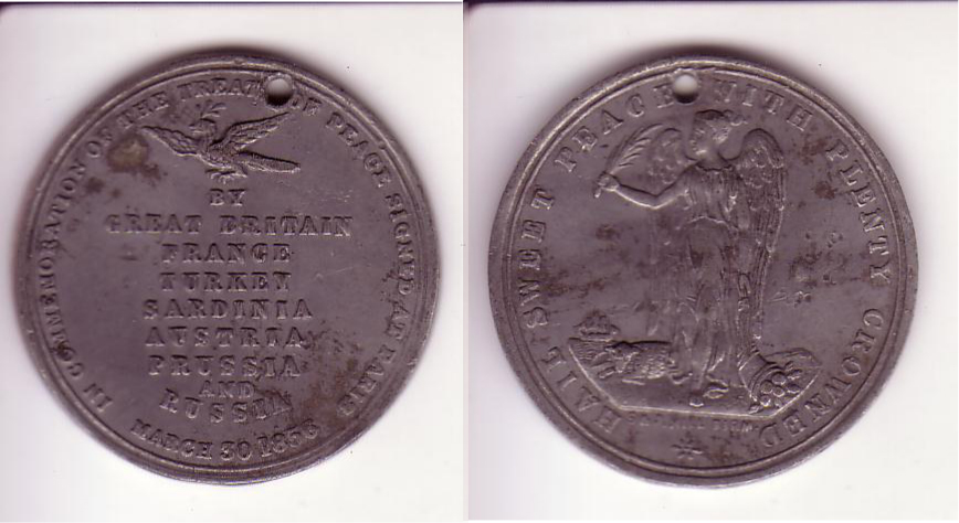 Filecrimea Treaty Of Paris Medallion War Peace Medallion 1856g
