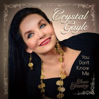 <i>You Dont Know Me: Classic Country</i> 2019 studio album by Crystal Gayle