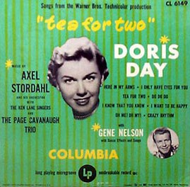 <i>Tea for Two</i> (album) 1950 soundtrack album by Doris Day