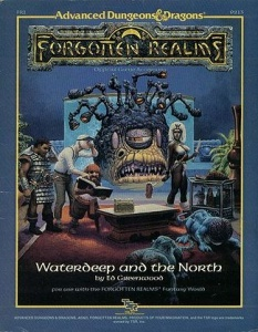 <i>Waterdeep and the North</i> book