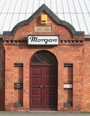 Morgan Motor factory, main entrance