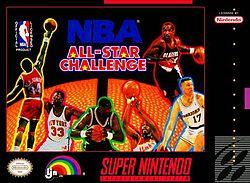 <i>NBA All-Star Challenge</i> 1993 video game