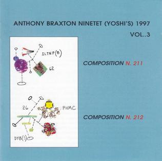 <i>Ninetet (Yoshis) 1997 Vol. 3</i> 2005 live album by Anthony Braxton