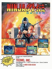 Ninja Gaiden Arcade Game Wikipedia
