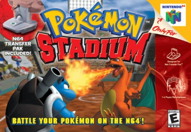 Picture of a game: Pokemon Stadium