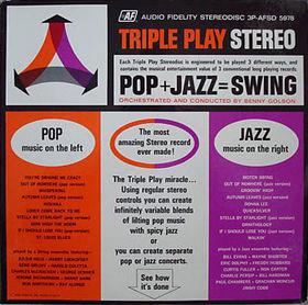 <i>Pop + Jazz = Swing</i> 1962 studio album by Benny Golson