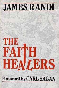 <i>The Faith Healers</i> book by James Randi