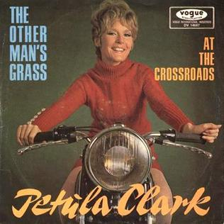 Cover image of song The Other Mans Grass Is Always Greener by Petula Clark