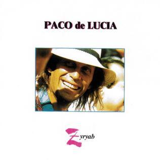 <i>Zyryab</i> 1990 studio album by Paco de Lucía
