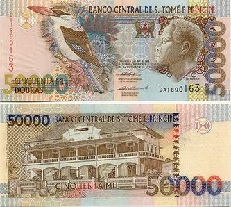São Tomé and Príncipe dobra - Wikipedia