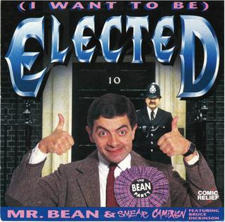 Mr Bean y Bruce Dickinson