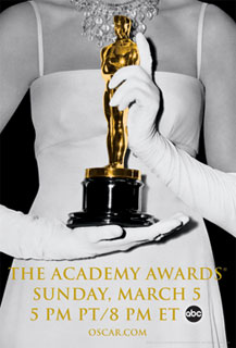 Official poster promoting the 78th Academy Awards in 2006.