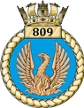 809 Squadron of the Royal Navy Fleet Air Arms badge.jpg
