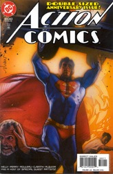 Struzan cover art for Action Comics #800, incl...